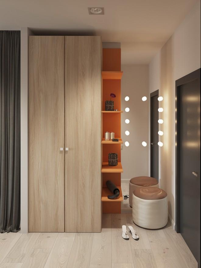 Có căn hộ 42m² trong tay, bạn cần thiết kế nhà như thế nào cho cuộc sống sinh hoạt thật thoải mái? - Ảnh 1.