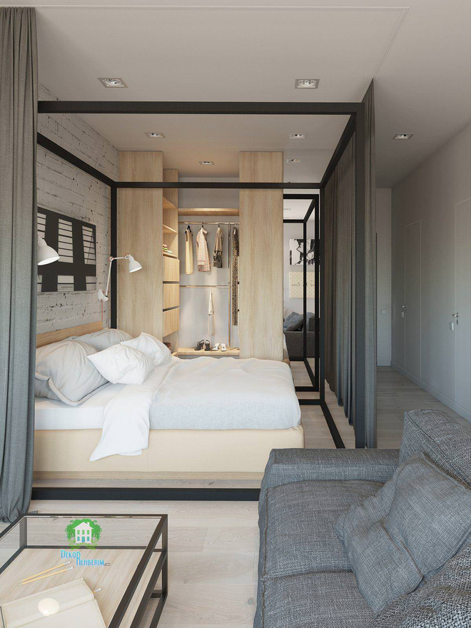 Có căn hộ 42m² trong tay, bạn cần thiết kế nhà như thế nào cho cuộc sống sinh hoạt thật thoải mái? - Ảnh 2.
