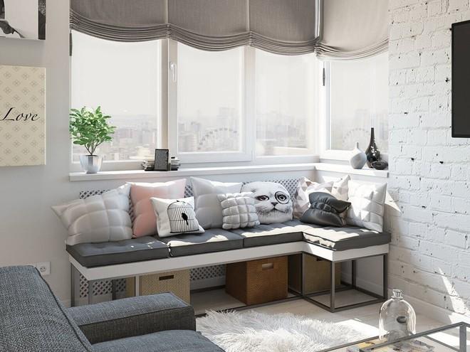 Có căn hộ 42m² trong tay, bạn cần thiết kế nhà như thế nào cho cuộc sống sinh hoạt thật thoải mái? - Ảnh 11.