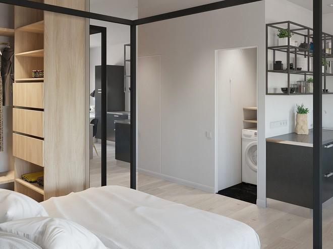 Có căn hộ 42m² trong tay, bạn cần thiết kế nhà như thế nào cho cuộc sống sinh hoạt thật thoải mái? - Ảnh 3.
