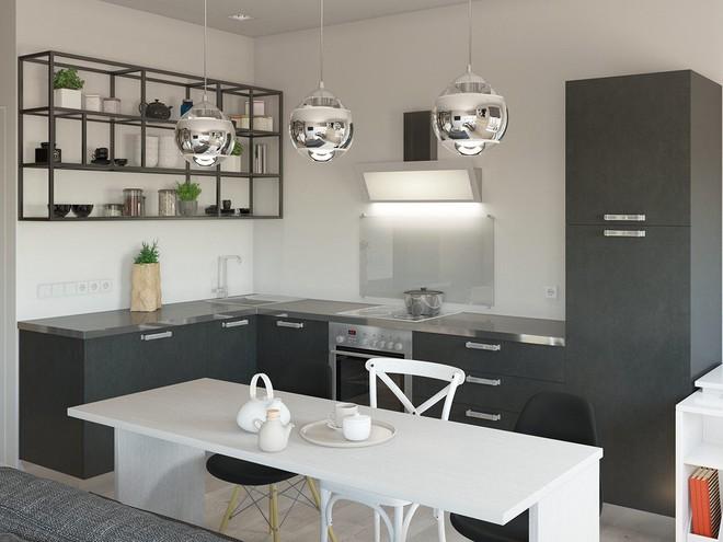 Có căn hộ 42m² trong tay, bạn cần thiết kế nhà như thế nào cho cuộc sống sinh hoạt thật thoải mái? - Ảnh 5.