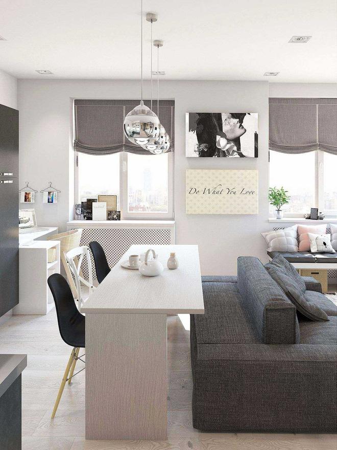 Có căn hộ 42m² trong tay, bạn cần thiết kế nhà như thế nào cho cuộc sống sinh hoạt thật thoải mái? - Ảnh 6.
