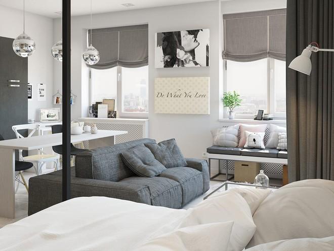 Có căn hộ 42m² trong tay, bạn cần thiết kế nhà như thế nào cho cuộc sống sinh hoạt thật thoải mái? - Ảnh 8.