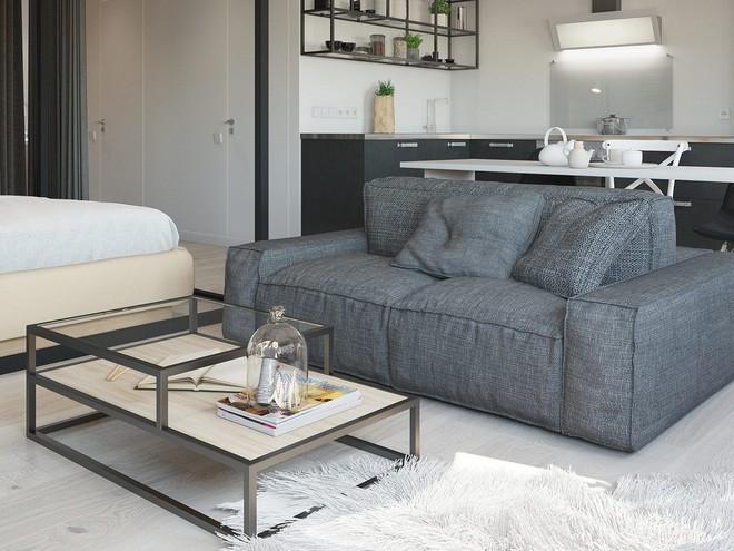 Có căn hộ 42m² trong tay, bạn cần thiết kế nhà như thế nào cho cuộc sống sinh hoạt thật thoải mái? - Ảnh 9.
