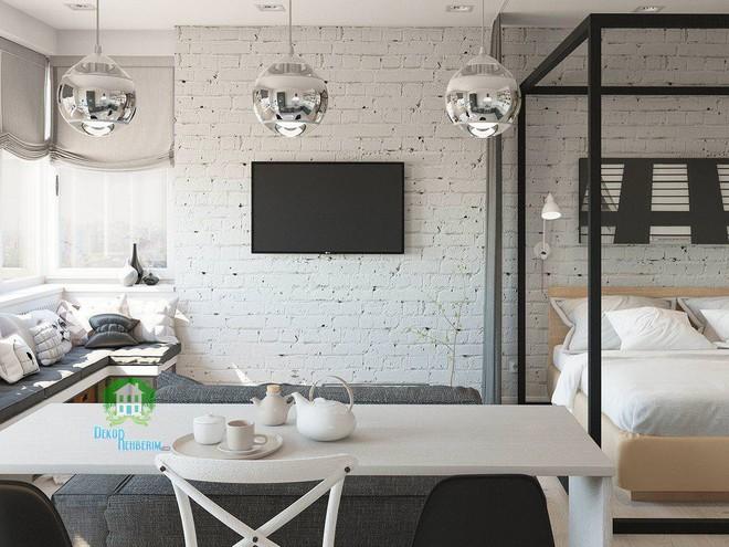Có căn hộ 42m² trong tay, bạn cần thiết kế nhà như thế nào cho cuộc sống sinh hoạt thật thoải mái? - Ảnh 10.