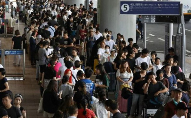 Người Đài Loan chạy bão Jebi phải nhận là người Trung Quốc mới được sơ tán bằng xe TQ