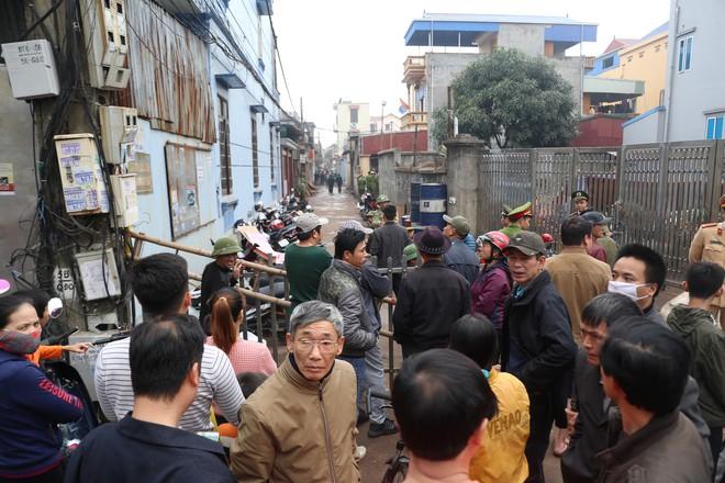 Hiện trường vụ nổ ở Bắc Ninh được phong tỏa như thế nào? - Ảnh 7.
