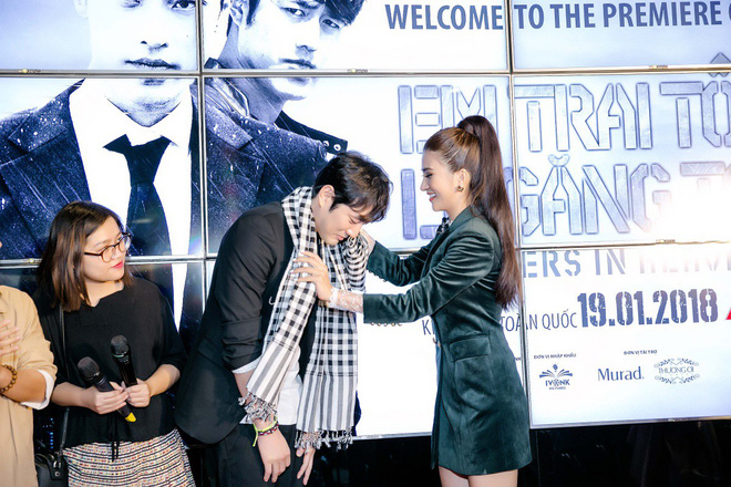 Nam tài tử Jo Han Sun thích thú khi được Kim Tuyến tặng quà độc lạ - Ảnh 10.