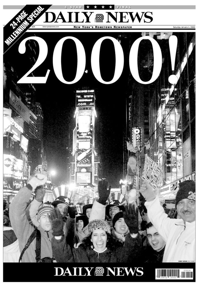 [Ảnh] Những khoảnh khắc ấn tượng trong gần 100 năm đón năm mới trên Quảng trường Thời đại - Ảnh 15.