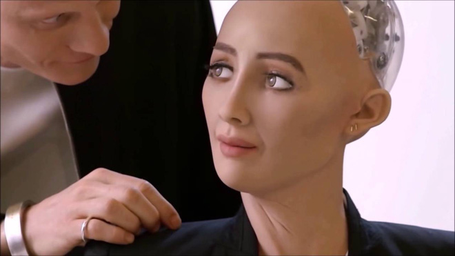 Sophia: Cô nàng robot từng tuyên bố hủy diệt con người, lần đầu nói lời yêu - Ảnh 5.