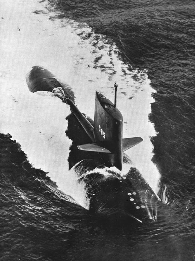 Skipjack - Sự tự hào của Mỹ và vụ mất tích bí ẩn khi theo dõi tàu ngầm Liên Xô - Ảnh 1.