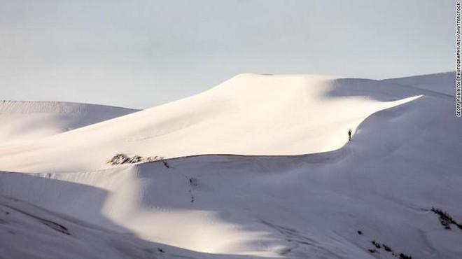 Lý giải hiện tượng tuyết rơi trắng xóa tại... sa mạc Sahara - Ảnh 11.