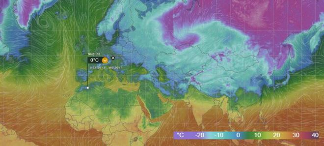 Lý giải hiện tượng tuyết rơi trắng xóa tại... sa mạc Sahara - Ảnh 2.