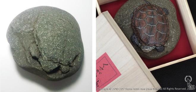 Nhặt những viên đá vứt đi, nghệ nhân điêu khắc Nhật Bản đã làm điều không ai ngờ tới - Ảnh 3.