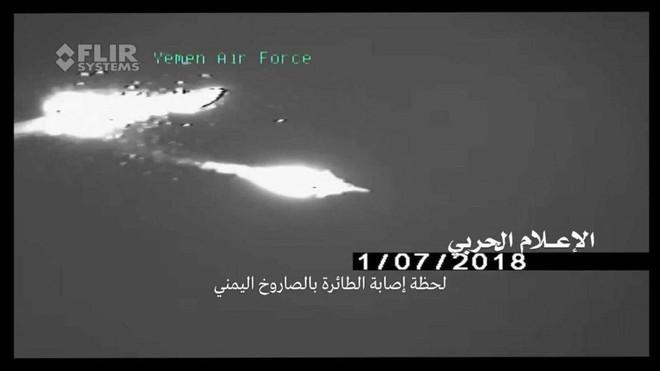 Houthi công bố khoảnh khắc tên lửa biến cả F-15 và Tornado thành bó đuốc: Không lối thoát - Ảnh 4.