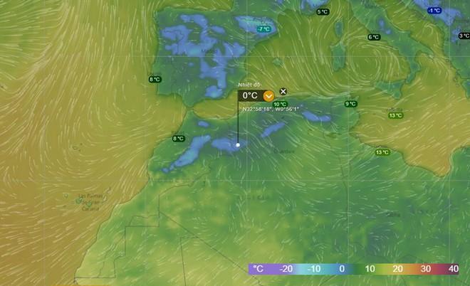 Lý giải hiện tượng tuyết rơi trắng xóa tại... sa mạc Sahara - Ảnh 3.
