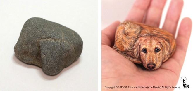 Nhặt những viên đá vứt đi, nghệ nhân điêu khắc Nhật Bản đã làm điều không ai ngờ tới - Ảnh 4.