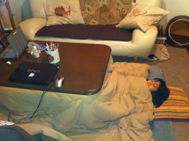 Bàn sưởi Kotatsu - phát minh tuyệt vời nhất của người Nhật - Ảnh 5.