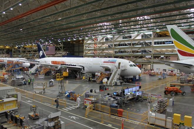 Bên trong nhà máy Boeing: Nơi ra đời những chiếc phi cơ biểu tượng của nước Mỹ - Ảnh 6.