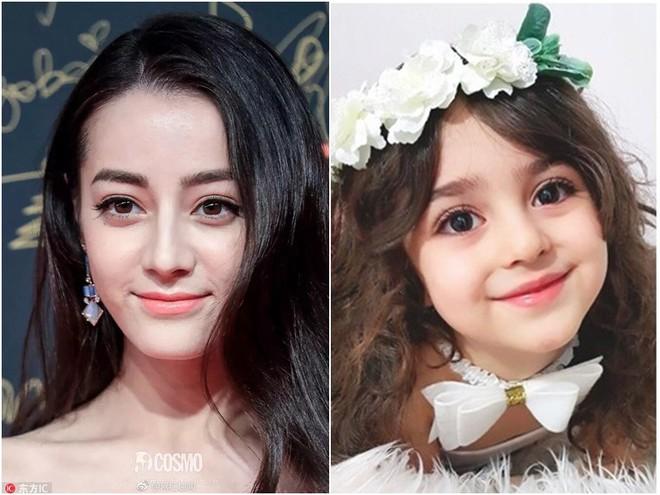 Thiên thần nhỏ người Iran khiến cư dân mạng Trung Quốc sửng sốt vì giống mỹ nữ Tân Cương Địch Lệ Nhiệt Ba - Ảnh 8.