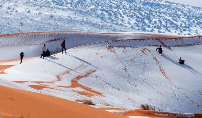 Lý giải hiện tượng tuyết rơi trắng xóa tại... sa mạc Sahara - Ảnh 7.