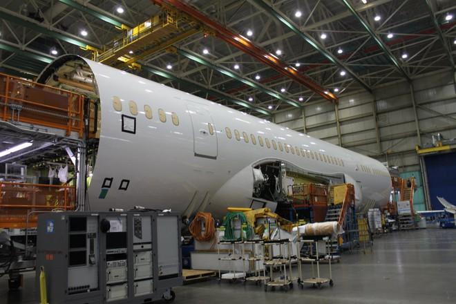 Bên trong nhà máy Boeing: Nơi ra đời những chiếc phi cơ biểu tượng của nước Mỹ - Ảnh 9.