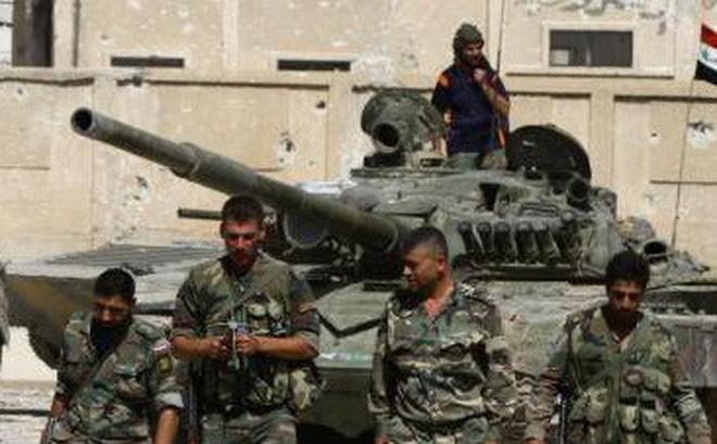 Căn cứ thiết giáp QĐ Syria bị bao vây nghẹt thở: Binh sĩ chính phủ cuống cuồng hội quân