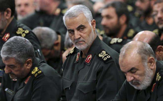 """Mỹ vừa """"nháy đèn"""" cho Israel ám sát viên tướng đáng sợ nhất của Iran?"""
