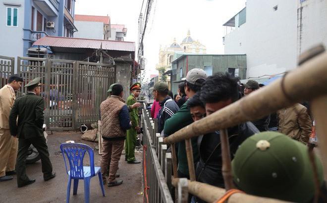 Hiện trường vụ nổ ở Bắc Ninh được phong tỏa như thế nào?