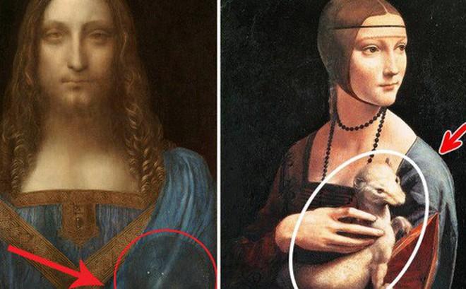 Bí ẩn trong các bức họa trăm triệu đô của Leonardo da Vinci: bí mật được bật mí