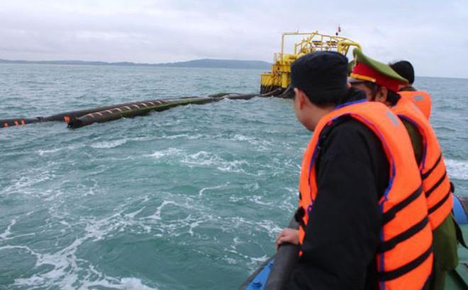 Chưa tìm thấy ống dẫn dầu thô 40 tỷ đồng bị đứt ngoài biển