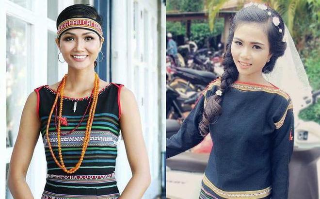 Để tóc dài và nữ tính, nhan sắc em gái hoa hậu H'Hen Niê gây chú ý