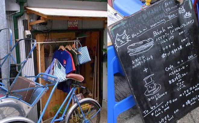 Nhà hàng Việt cực chất giữa thủ đô Tokyo: Mang cả xích lô, xe đẩy bánh mì, cốc thủy tinh từ Việt Nam sang!