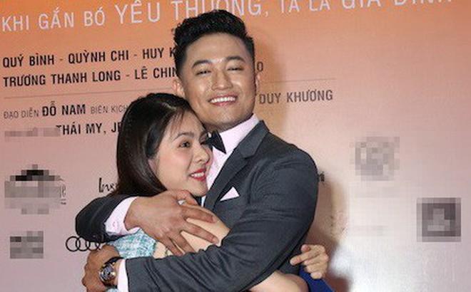 Vân Trang ôm chặt cứng Quý Bình trên thảm đỏ