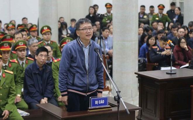 Ngày 24/1, Trịnh Xuân Thanh tiếp tục ra hầu tòa trong vụ tham ô tài sản tại PVP Land