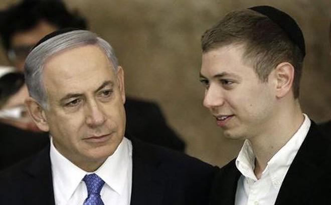 """Thủ tướng Israel lại đau đầu vì cậu con trai cả """"gây chuyện"""""""
