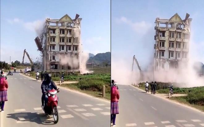 Phá nhà 7 tầng của Tàng Keangnam: Đơn vị thi công làm ẩu, thiếu an toàn