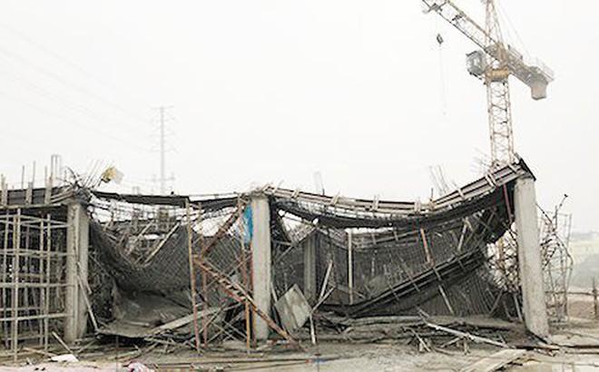 Đình chỉ thi công công trình bị sập giàn giáo trên đường Tố Hữu