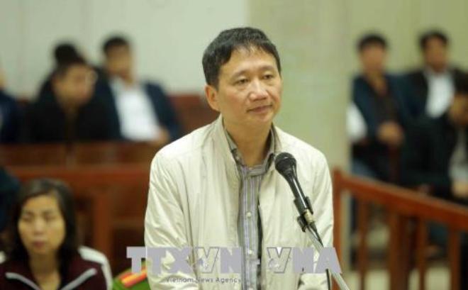 """Bị cáo Trịnh Xuân Thanh: """"Đã tù chung thân rồi, bị cáo không việc gì phải nói dối"""""""