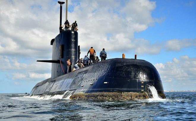 Argentina tìm thấy tàu ngầm mất tích ARA San Juan ở độ sâu 800 mét trên Đại Tây Dương