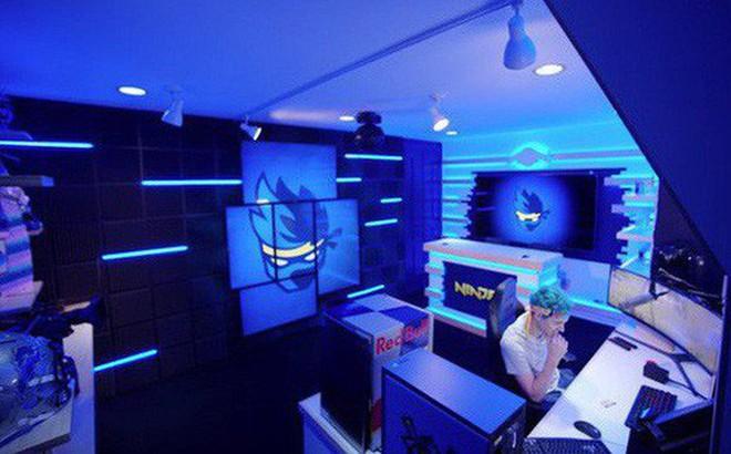 Bên trong studio 'khủng' của hot streamer hàng đầu thế giới: Thiên đường công nghệ đội lốt tầng hầm