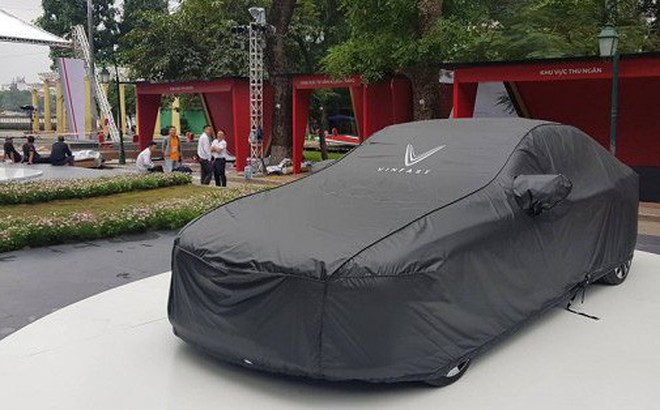 Hình ảnh mới nhất của ô tô VinFast tại Hà Nội chuẩn bị ra mắt ngày mai