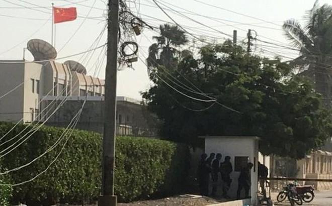 Lãnh sự quán Trung Quốc ở Pakistan bị tấn công, 5 người chết