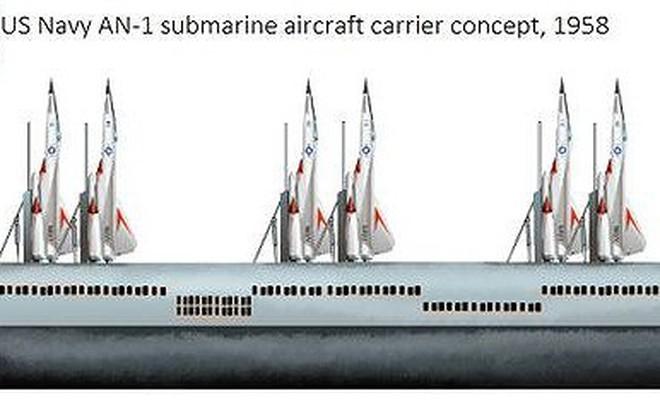 Mỹ có thể phát triển tàu ngầm sân bay trước những đe dọa mới của tên lửa chống tàu Trung Quốc