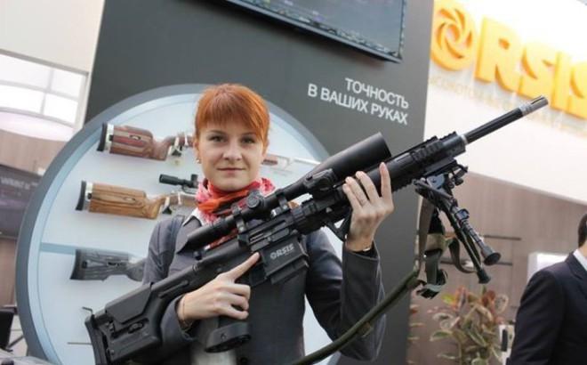 Nữ đặc vụ Nga xâm nhập vào Hiệp hội súng trường Quốc gia Mỹ sẽ nhận tội?