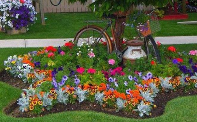 12 ý tưởng thiết kế khu vườn đẹp với biến tấu của hoa khiến bạn không thể rời mắt