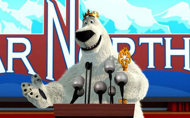 """""""Norm of the North: Keys to the Kingdom"""" - Câu chuyện hài hước về gã """"Đầu gấu Bắc Cực"""" biết nói tiếng người"""