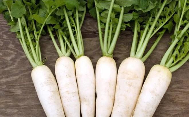 Chữa bệnh khàn tiếng bằng củ cải trắng