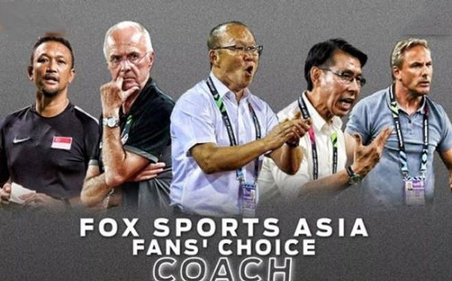 """Thầy Park là HLV xuất sắc nhất AFF Cup 2018 với lượng bình chọn """"ai nhìn cũng choáng"""""""