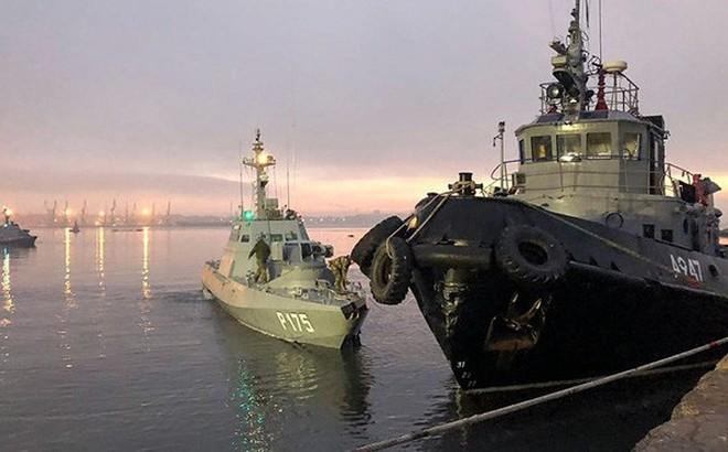 """Nga nói Ukraine lĩnh """"hậu quả khủng khiếp"""" nếu tàu chiến trở lại eo biển Kerch"""
